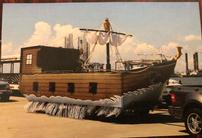 LIVE AUCTION - Mardi Gras- Pirate Ship Float 202//138